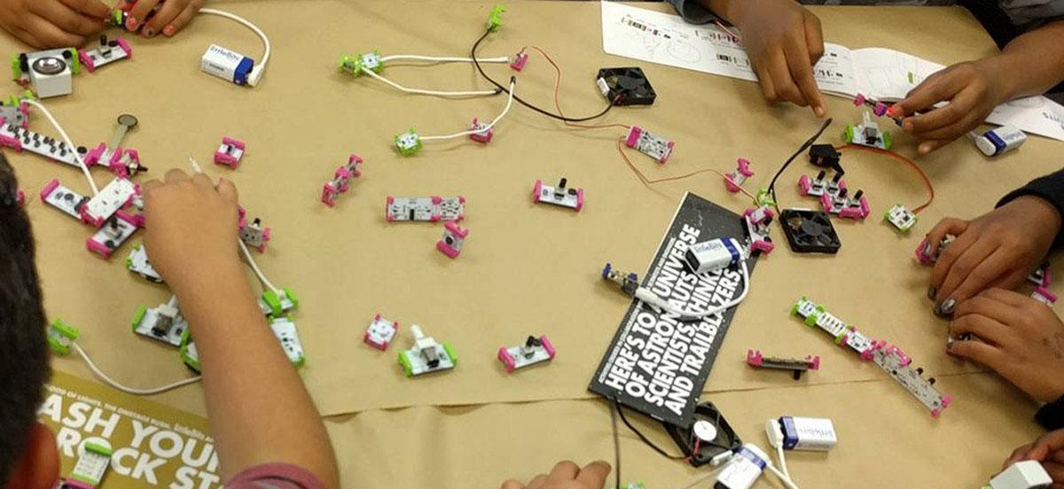 The Library's buildIT makerspace engages SDSU students with new technology.