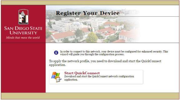 Automatic Setup via Aruba Onboard   Windows 7   eduroam   Internet
